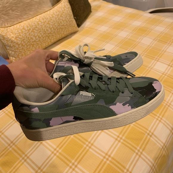 Puma Shoes | Puma Camo Sneakers | Poshmark